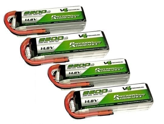 PA V4 Lipo Batteries